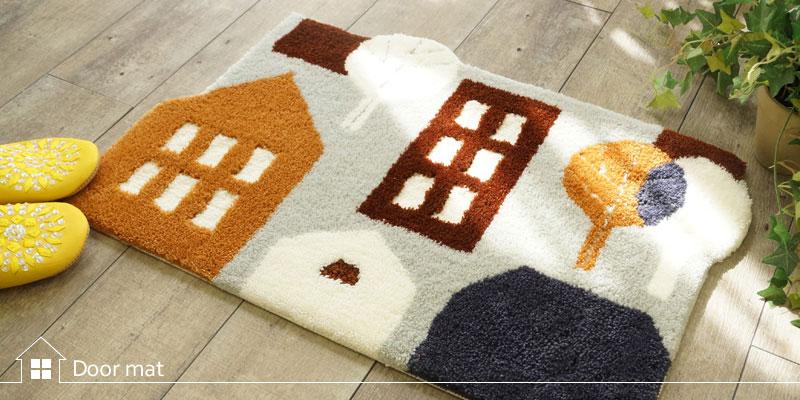 激安〜高級マットまで幅広い品ぞろえの玄関マットはびっくりカーペット