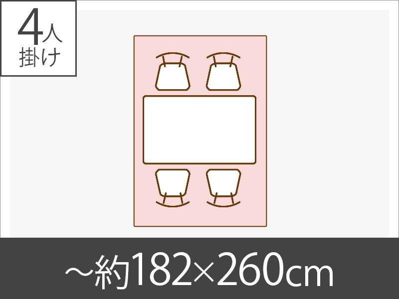 〜約182x260cm